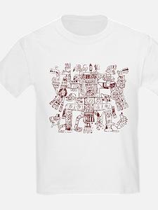 Aztec Artwork Kids T-Shirt