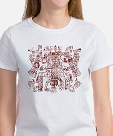 Aztec Artwork Women's T-Shirt
