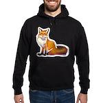 Arctic Fox Label Hoodie (dark)