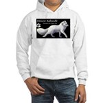 Arctic Fox Label Hooded Sweatshirt