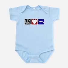 Peace Love Tumble Infant Bodysuit