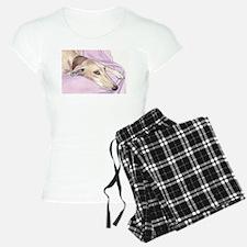 Lurcher on sofa Pajamas
