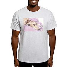 Lurcher on sofa T-Shirt