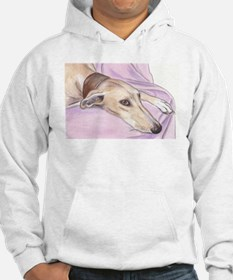 Lurcher on sofa Jumper Hoody