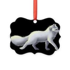 Arctic Fox 3 Ornament