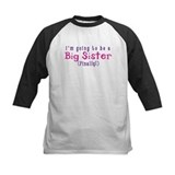 Im going to be a big sister Baseball Jersey