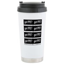 Got PPE? International Stainless Steel Travel Mug