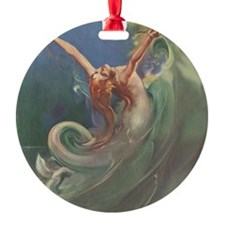 Vintage 1930s Mermaid Ornament