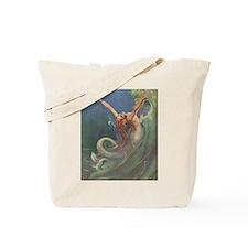 Vintage 1930s Mermaid Tote Bag