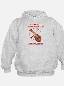 No Luting Please Hoodie