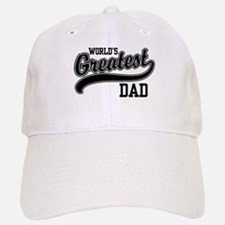 World's Greatest Dad Baseball Baseball Cap