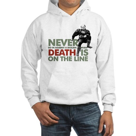 Princess Bride Vizzini Hooded Sweatshirt