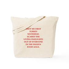 turkey shoot Tote Bag