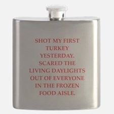 turkey shoot Flask