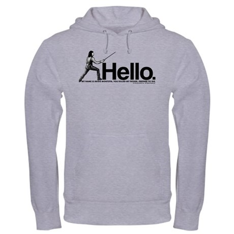 Princess Bride Inigo Montoya Hooded Sweatshirt