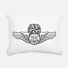 Air Force Master Aircrew Rectangular Canvas Pillow