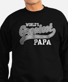 World's Greatest Papa Sweatshirt (dark)