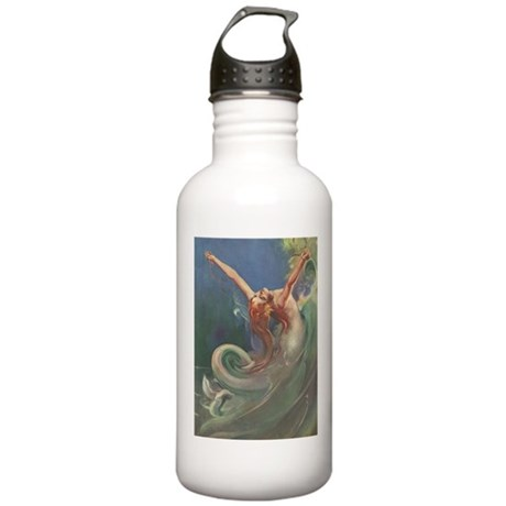 Vintage 1930s Mermaid Stainless Water Bottle 1.0L
