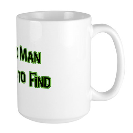 A Hard Man Large Mug