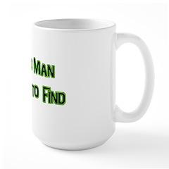 A Hard Man Large Mug