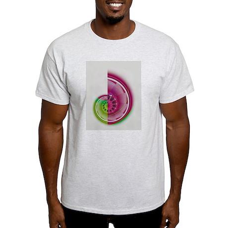 CHAMBERED NAUTILUS Ash Grey T-Shirt