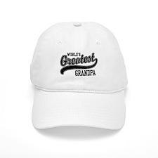 World's Greatest Grandpa Baseball Baseball Cap
