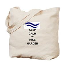 F-inn hike harder Tote Bag
