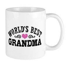 World's Best Grandma Small Mugs
