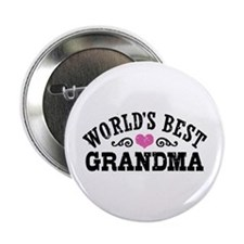 "World's Best Grandma 2.25"" Button"