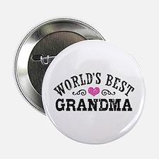 "World's Best Grandma 2.25"" Button"