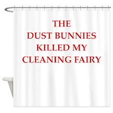 housekeeping Shower Curtain