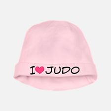I Heart Judo baby hat