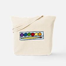 Paint Set Tote Bag