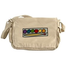 Paint Set Messenger Bag