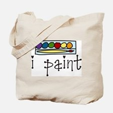 I Paint Tote Bag