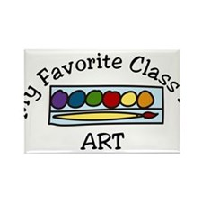 Art Class Rectangle Magnet