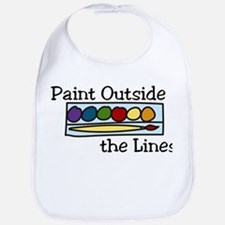 Paint Outside The Lines Bib