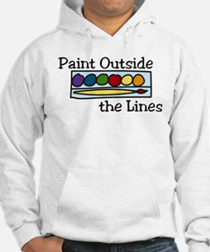 Paint Outside The Lines Hoodie