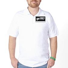 Got PPE? Korean Golf Shirt