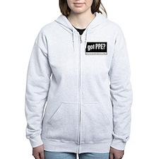 Got PPE? Korean Women's Zip Hoodie