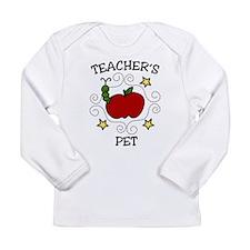 Teachers Pet Long Sleeve Infant T-Shirt