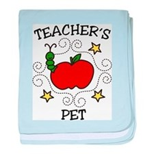 Teachers Pet baby blanket