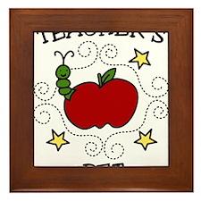 Teachers Pet Framed Tile