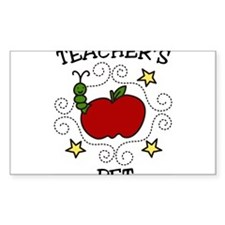 Teachers Pet Decal
