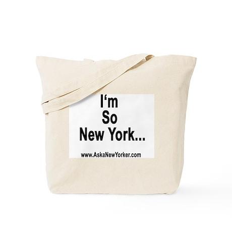 I'm So New York Tote Bag