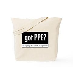 Got PPE? Portuguese Tote Bag