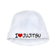 I Heart Jujitsu baby hat
