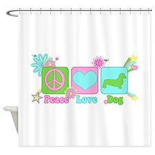 Dachshund [smooth] Shower Curtain