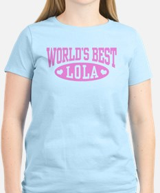 World's Best Lola T-Shirt