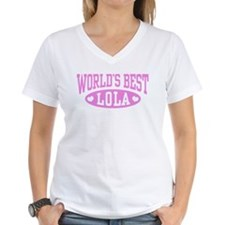 World's Best Lola Shirt